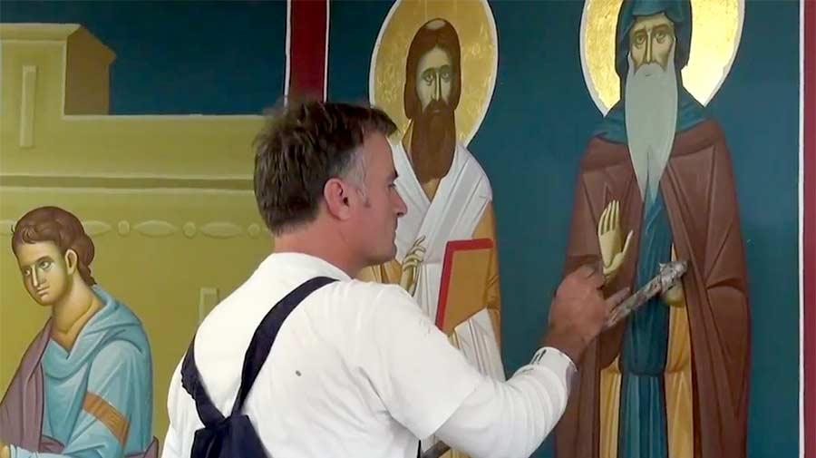 Weihnachten Am 6 Januar.Serbisch Orthodoxe Weihnachten Am 6 7 Januar Bäup Ch